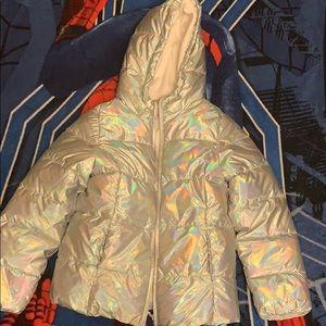 Girls Children's Place iridescent jacket